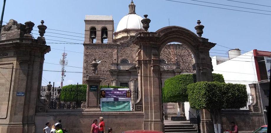 Matrimonio Catolico Fuera Del Templo : Santuario de guadalupe del centro el recinto católico más