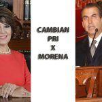 La caída de un senador y una diputada; los placeres del poder en MORENA