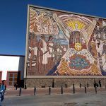 Mural de Los Origenes; donde se plasma la identidad de los irapuatenses