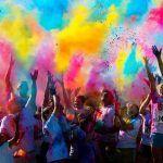 Vístete de blanco, participa y llena de color y diversión tu día; carrera de Colores por la Salud
