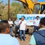 Arranca Moy Cortéz construcción de  la primera ciclo vía de Cuerámaro