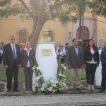 Autoridades realizan acto cívico conmemorativo al Benemérito de las Américas