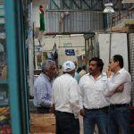 Revisa alcalde trabajos en Mercado Hidalgo