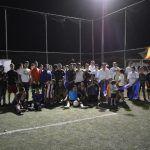 Arranca Moy Cortéz rehabilitación de cancha de futbol Uruguayo en Unidad Deportiva