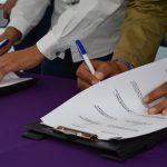 Firman convenio de colaboración SEDESHU – Cuerámaro