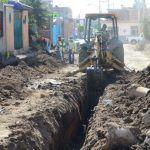 Sistema de drenaje y planta de tratamiento en Santa Bárbara registran un avance del 25%
