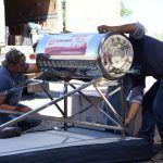 Arrancan programas de Piso Firme y Calentadores Solares