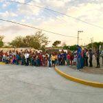 Cruces de Rojas ha cambiado su imagen; inauguran pavimentación de la calle principal