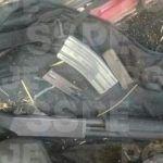 Aseguran en Salamanca armas, cartuchos útiles y vehículos con reporte de robo