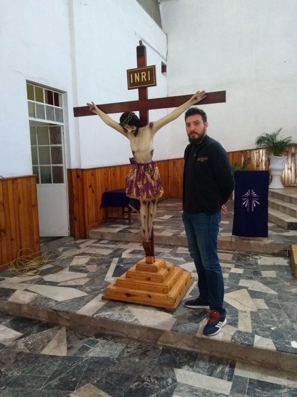 """Photo of """"Desde niño soné con personificar a cristo en el viacrucis"""": Luis Antonio Pérez"""