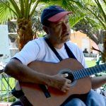 Un cantante penjamense en Pueblo Nuevo