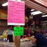 Viernes de Cuaresma, comida típica y del mar en Mercado Hidalgo