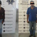 Cecilia de 21 años detenida junto a Francisco por robo en Pénjamo