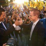Se registra Diego Sinhue como candidato a Gobernador de Guanajuato, Ricardo Anaya lo acompaña