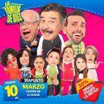 """Otra vez cancela """"Una Familia de Diez"""" en el Teatro de la Ciudad"""