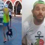 Repudio en redes: patea a perrito durante carrera en Yucatán… luego se disculpa
