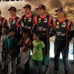 Niños beneficiarios del Rally de la Salud 2018 conviven con pilotos de la Competencia Mundial de Rallies 2018