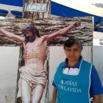 """""""Vivo los días santos reconociendo todo el sacrificio que dios hizo por nosotros en la cruz"""": Soledad Murillo"""
