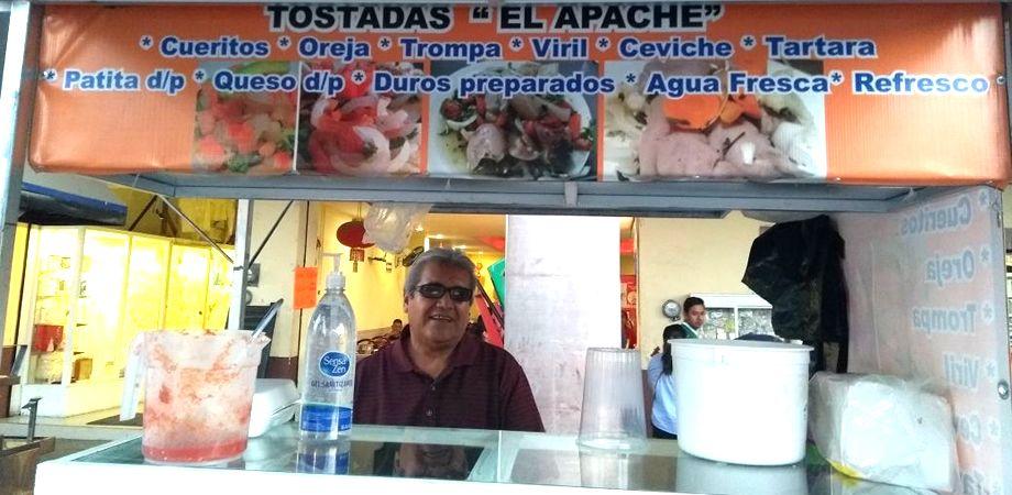 """Photo of """"Tostadas el Apache"""" la delicia de la Plazuela Hidalgo"""