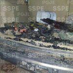 Aseguran arsenal y casi 800 cartuchos útiles en un operativo de la SSPE y Policía Militar en Salamanca