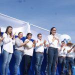 """""""A trabajar desde el núcleo familiar"""": Arranca campaña Ana Bueno"""