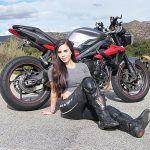 """Murió a los 33 años la """"Reina"""" de las motos de Instagram, Annette Carrion"""