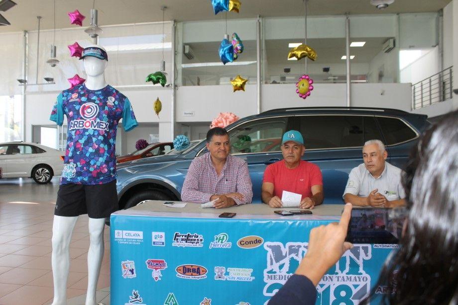 Photo of Presentan edición XXIII del Medio Maratón de Tamayo