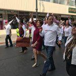 En Monumento a la Bandera arranca campaña Irma Leticia González