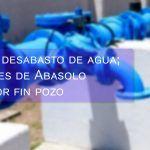 Termina el desabasto de agua; comunidades de Abasolo tendrán por fin pozo