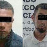 En hechos distintos, aseguran a dos personas armadas en el municipio de Pénjamo