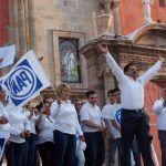 """En arranque de campaña, Javier Granados """"Happy"""" garantiza honestidad y trabajo"""
