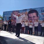 López Obrador visita Irapuato y afirma que terminará con la corrupción