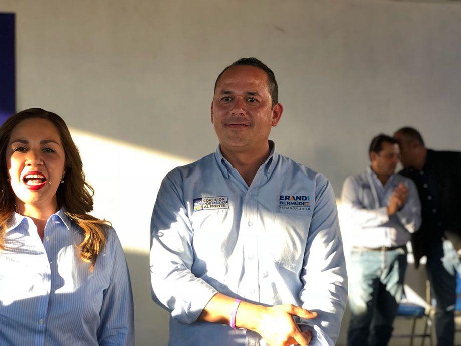 Photo of Pide Erandi Bermúdez a irapuatenses apoyo para Sinhué y Anaya