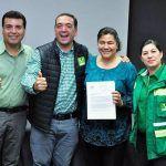 """Los dos eran del PRI y se """"brincaron"""" al Verde: uno a regidor y la otra a alcaldesa de Abasolo"""