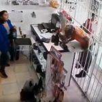 Ni las rejas los detienen…delincuentes operando (Video)