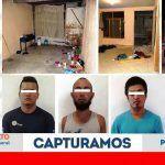 """Rescatan a 3 hondureños secuestrados y """"ocultados"""" en Salamanca; hay 5 detenidos"""