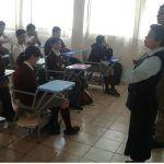 Imparten pláticas de prevención de Accidentes en colegio Amado Nervo