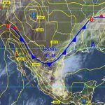Probabilidad de tormentas fuertes en la mayoría de territorio estatal