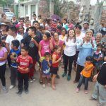 Recorre Arcelia González caminos de comunidades
