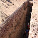 Realizan trabajos de construcción de línea de conducción de agua en Cuerámaro