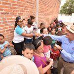 Realiza Ortiz campaña ciudadana; sigue recorriendo colonias y comunidades