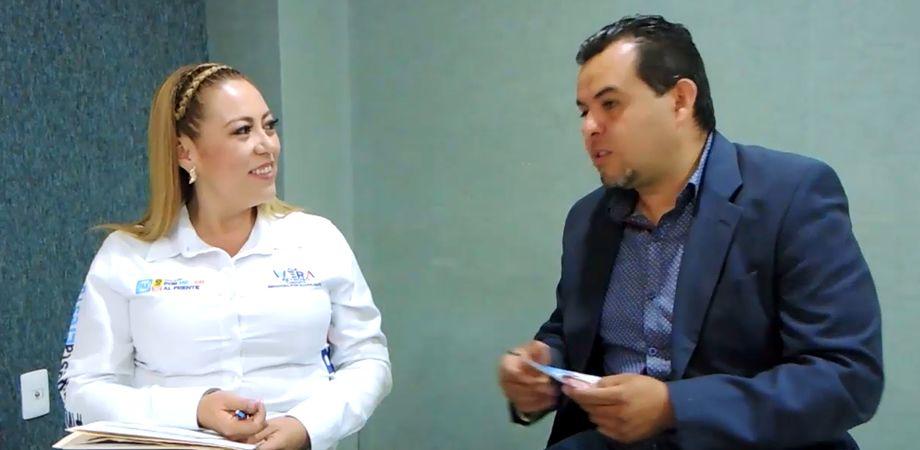 Photo of Ale «La Wera» Reynoso, candidata al Senado por el PAN, entrevista