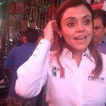 Propone Arcelia proyectos de impulso, educación y seguridad a tianguistas