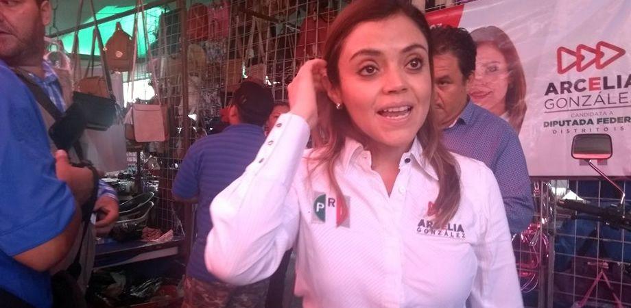 Photo of Propone Arcelia proyectos de impulso, educación y seguridad a tianguistas