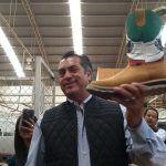 """Visita """"El Bronco"""" a empresarios del calzado en León"""