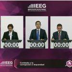 En Vivo debate a la Gobernatura de Guanajuato