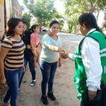 Cony Navarrete recibe las necesidades de los abasolenses