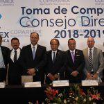 Rinde protesta consejo directivo de la COPARMEX