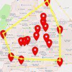El cuadrante de la muerte en Irapuato (mapa)