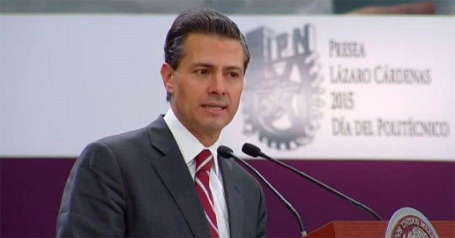 Photo of Otra de EPN: Dice que Instituto Politécnico se creó hace 500 años… (Video)
